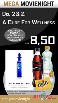 Bild: MEGA MovieNight: A Cure for Wellness