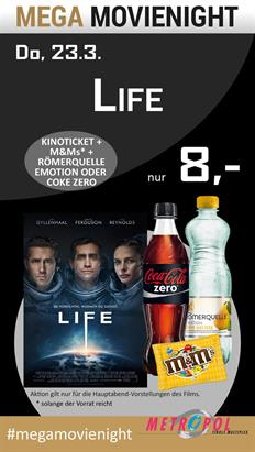 Bild: MEGA MovieNight: Life