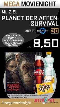 Bild: MEGA MovieNight: Planet der Affen: Survival