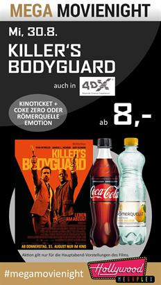 Bild: MEGA MovieNight: Killer´s Bodyguard