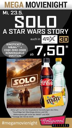 Bild: MEGA MovieNight: Solo: A Star Wars Story