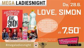 Bild: MEGA LadiesNight: Love, Simon