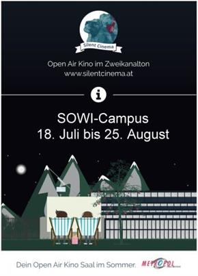 Bild: Open Air 2018 - Silent Cinema SOWI