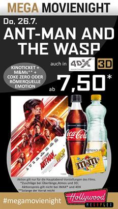 Bild: MEGA MovieNight: Ant-Man and the Wasp