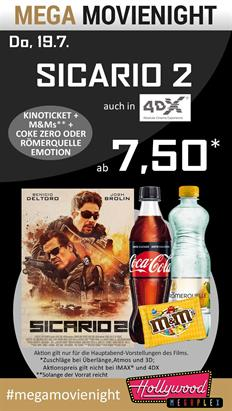 Bild: MEGA MovieNight: Sicario 2