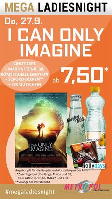 Bild: MEGA LadiesNight: I Can Only Imagine