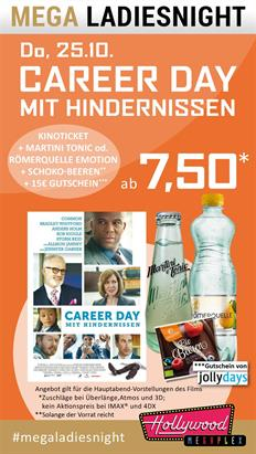 Bild: MEGA LadiesNight: Career Day mit Hindernissen