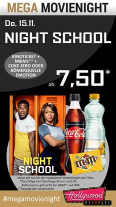 Bild: MEGA MovieNight: Night School