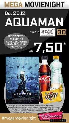 Bild: MEGA MovieNight: Aquaman
