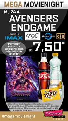 Bild: MEGA MovieNight: Avengers: Endgame