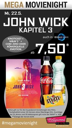 Bild: MEGA MovieNight: John Wick: Kapitel 3