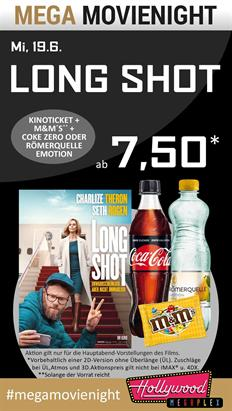 Bild: MEGA MovieNight: Long Shot