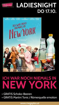 Bild: LadiesNight: Ich war noch niemals in New York