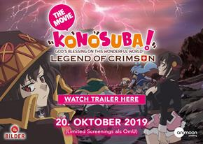 Bild: Animeevent: Konosuba - Legend of Crimson